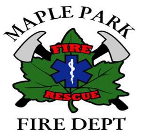 Maple Park Fire Dept Logo