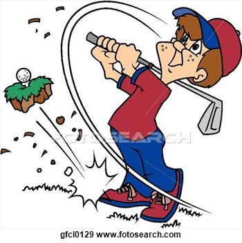 Golfer Cartoon Image