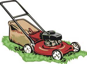 Picture of a Lawn Mower with grass