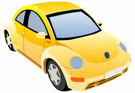 Picture of VW Beetle Clip Art