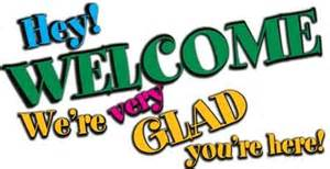 We're glad you're here Clip Art
