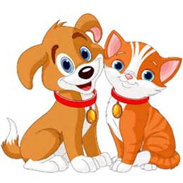 Dog & Cat Clip Art