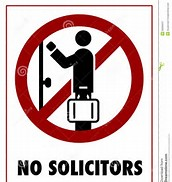 No Solicitors Clip Art