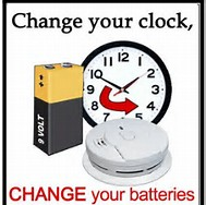 Change your clock change your batteries clip art