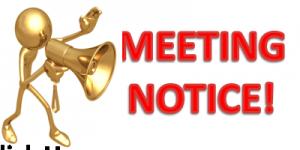 Public Meeting Notice Clip Art
