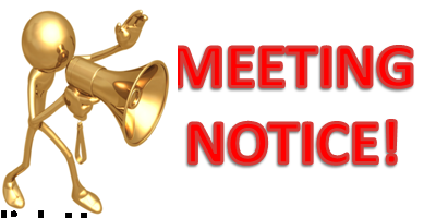 Public Meeting Notice Clip Art