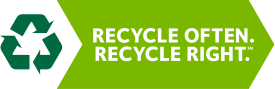 Recyle Often Recycle Right Logo