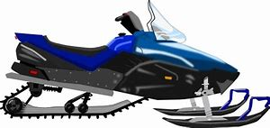 Snowmobile Clip Art