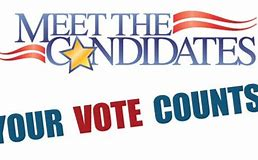Meet the Candidates Clip Art