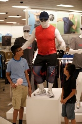 Picture of a full size mannequin
